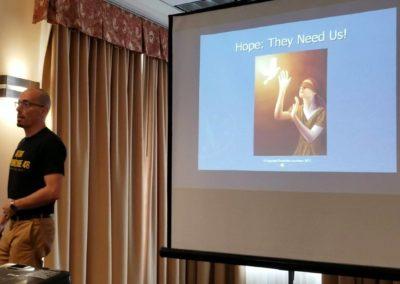 Kangfu Seminars | Andy teaching