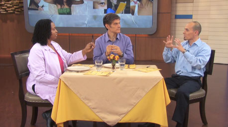 Andy on the famous Dr Oz show