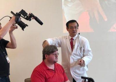 Kangfu Seminars | Jason Hao Needling demonstration