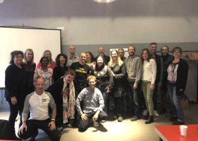 Group picture with Andy Rosenfarb | Kangfu Seminars